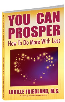 Book Front Cover for YOU CAN PROSPER: How To Do More With Less