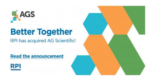 AG Scientific, Inc. Announces Agreement of Acquisition by RPI