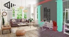 3D Furniture Virtual Lifestyle CGI for Retail