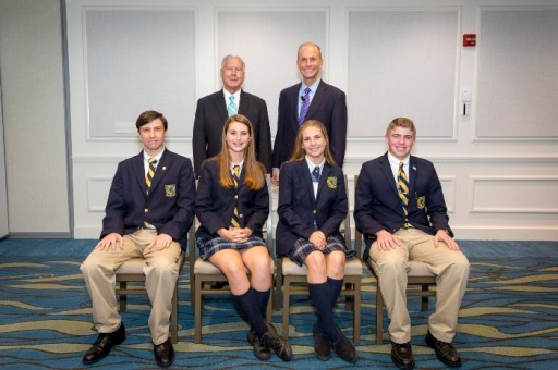 Mason Classical Academy Students Attend Forum Club Event With Boeing CEO