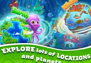 Explore lots of locations and planets