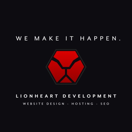LionHeart Development - New Small Town Web Services Startup - Assisting Small Businesses