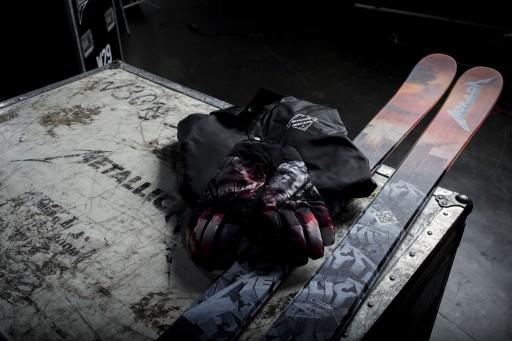 Metallica Teams With Armada for Signature 2015-16  Ski & Outerwear Line
