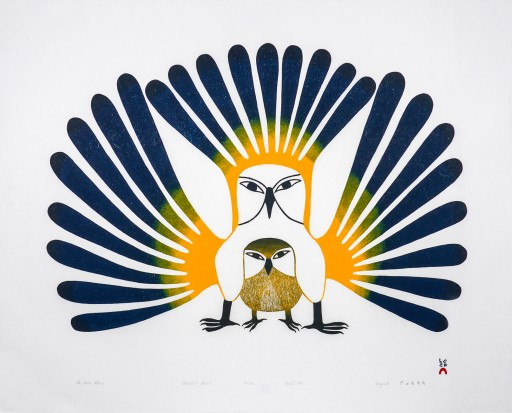 Extraordinary and Rare Collection of 60 Prints Over 60 Years From Cape Dorset