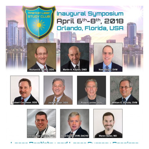 Announcing Laser Dentistry and Laser Surgery Sessions Speakers - ALSC Inaugural Symposium, April 6-8 in Orlando
