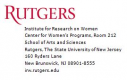 Institute for Research on Women, Rutgers, The State University of New Jersey