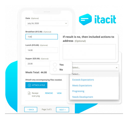 A Game-Changer for Front-Line Staff: iTacit Employee App Integrates Forms and Workflows
