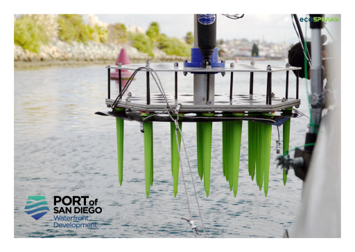 ecoSPEARS Deploys NASA-Developed Clean Water Technology to Remove Toxins From San Diego Bay