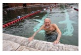 98 year old swimmer John Lawyer
