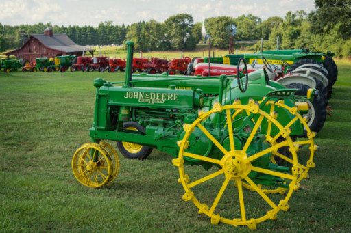 Man Donates Entire Antique Tractor Collection to YMCA
