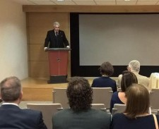 Social Reform Officer of the Church of Scientology Rome emceed a conference on environmental responsibility.