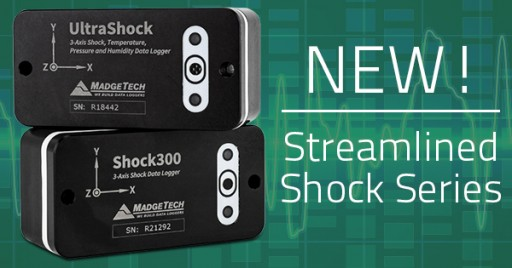 MadgeTech Releases New, Streamlined Solution for Shock Monitoring