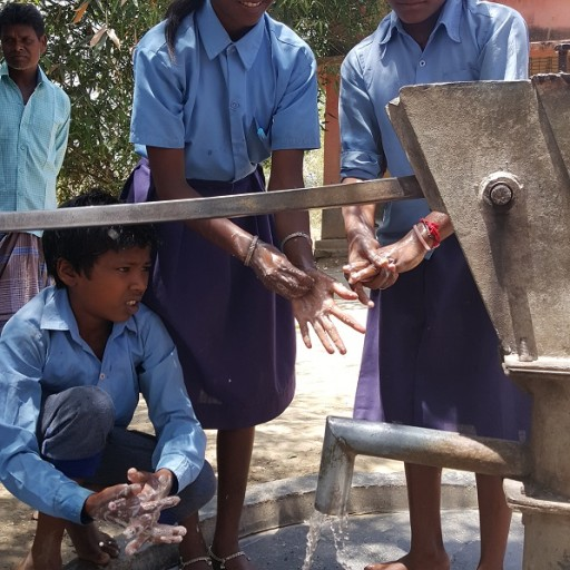 Clean the World Foundation Reduces Diarrheal Disease by 97% in India With WASH in Schools Program