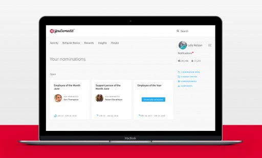 YouEarnedIt Expands Platform With Launch of Awards and Nominations