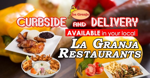 During Coronavirus COVID-19 Florida Shutdown, La Granja Restaurants is Serving Its Customers Through Curbside and Delivery Orders