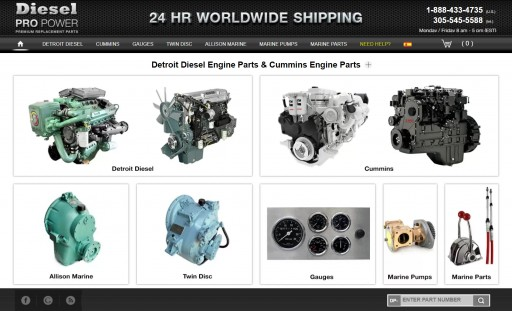Diesel Pro Power Offers Premier Place to Buy Detroit Diesel Engine Parts Online