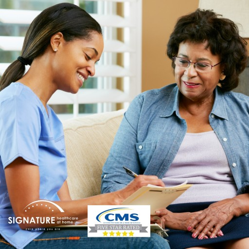 Signature Healthcare at Home Agency Rated 5 Stars in Home Health