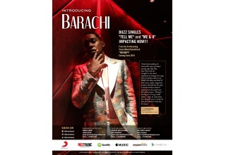 Barachi - Miami-based singer/songwriter/actor/producer