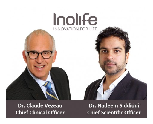 Inolife Appoints Two Renowned Pharmaceutical and Medical Industry Experts to C-Level Executive Positions