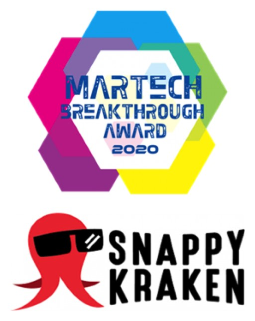 Snappy Kraken Named 'Best Overall Content Marketing Company' for Second Consecutive Year in Annual MarTech Breakthrough Awards Program