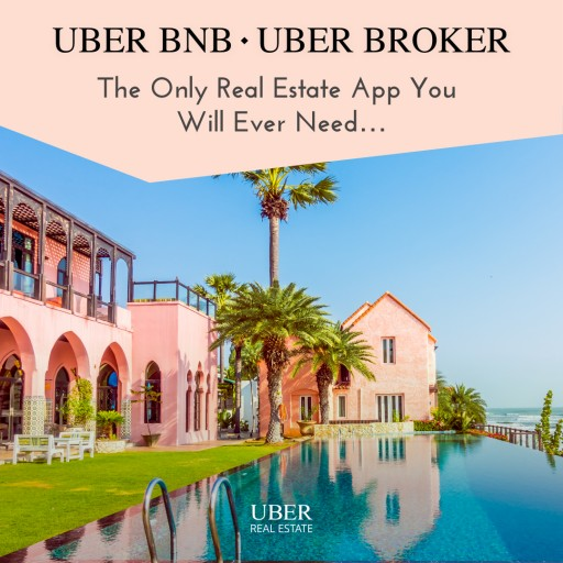 ÜBER - Launches the UBER Application With UBER BNB and UBER REAL ESTATE