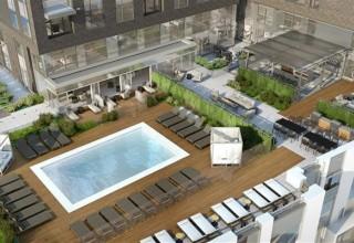 345 Harrison Rooftop Swimming Pool