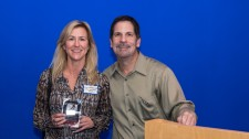 Senior VP Accepts Hero Award