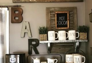 Coffee Bar Wall Decor