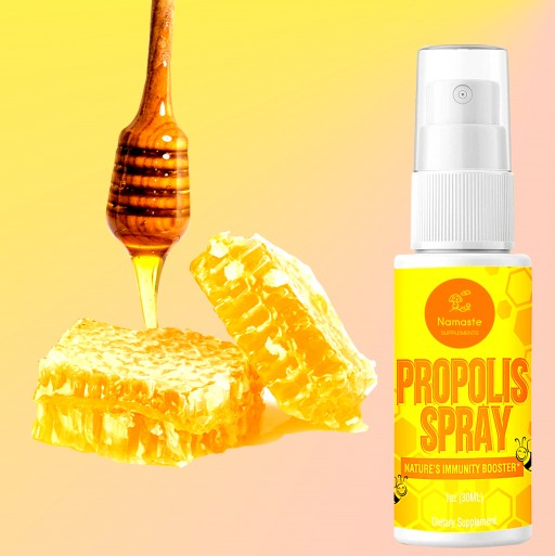Namaste Supplements Wants You to 'Bee Healthy' This Season With Bee Propolis
