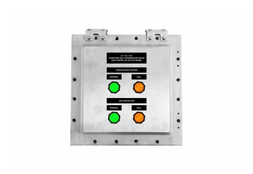 Larson Electronics Releases Explosion Proof Control Station, 120V AC, CID1/CIID1, LED Pilot Lights