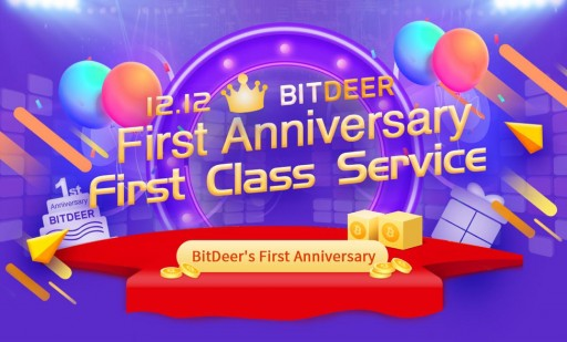 BitDeer.com Celebrates One-Year Anniversary With Big Giveaway
