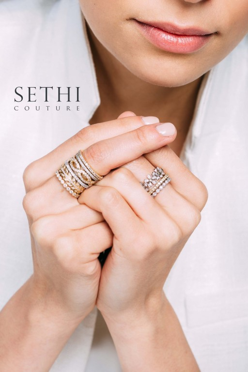 Design the Perfect Ring Stack at the Bring Your Own Bands Party by Razny Jewelers