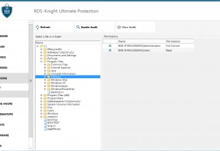 Easily Inspect Files Permissions and Run Audits with RDS-Knight Ultimate & Essentials
