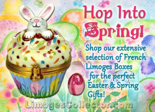 Spring is in Full Bloom With the New Limoges Box Collection at LimogesCollector.com
