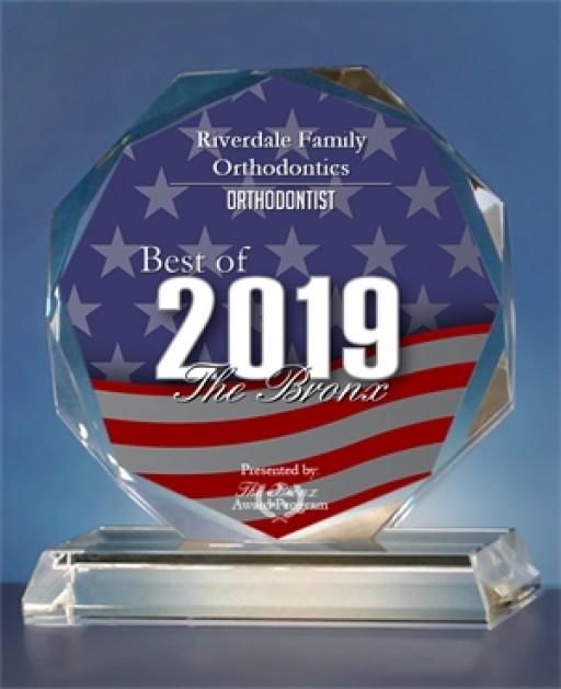 Riverdale Family Orthodontics Named Best of the Bronx
