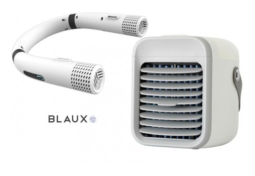 Blaux Portable AC + Wearable Air Cooling Fan Steal the Summer's Heat