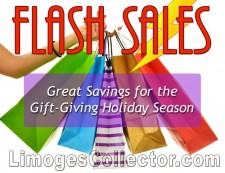 Flash Sales at LimogesCollector.com for savings on Holiday gifts
