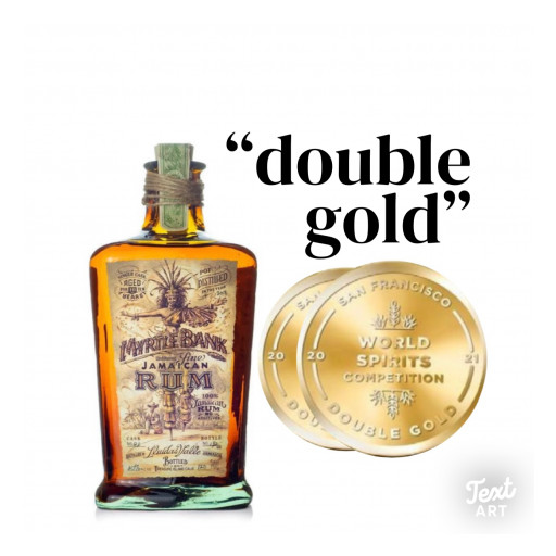 Myrtle Bank 10YR Single Cask Rum Takes Home 'Double Gold' San Francisco World Spirits Competition