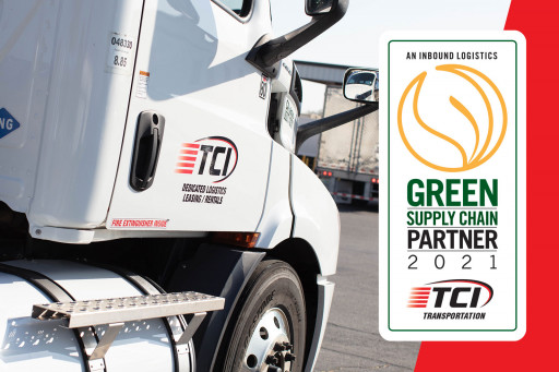 TCI Transportation Named to Inbound Logistics Green Supply Chain Partners List
