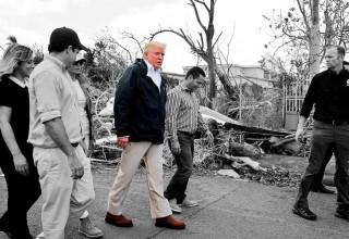Donald Trump in Puerto Rico