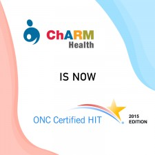 ChARM Health MU 2015 Edition Certification