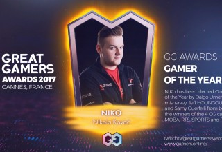 GreatGamers Awards Gamer of the Year NiKo