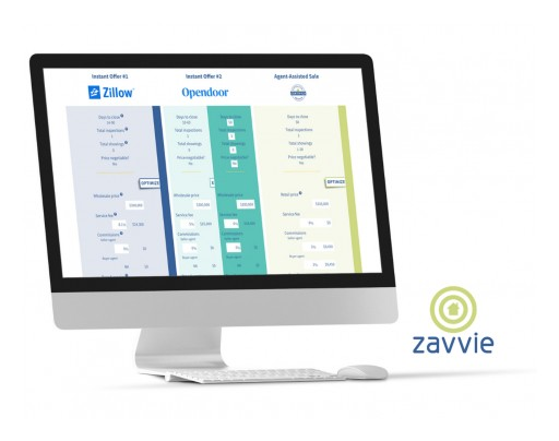 Zavvie Launches First National iBuyer Instant Offer Comparison Tool