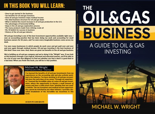 "Michael W. Wright's Debut Title, ""THE OIL & GAS BUSINESS"" Was Launched During Wright Drilling & Exploration's Christmas Party on 12/16/2016"