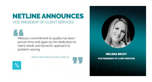 NetLine Announces Appointment of Melissa Becht to Vice President of Client Services