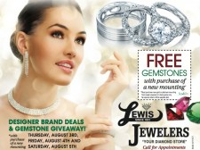 """""""Get it or Regret it"""" Sale at Lewis Jewelers"""