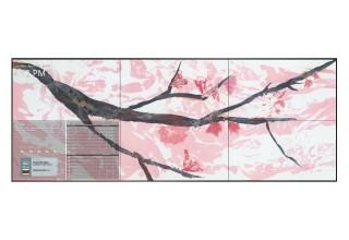 TouchSource Video Wall Featuring 'Zen Meets Wanabi' by Jan Sullivan Fowler, South Milwaukee, Wisconsin