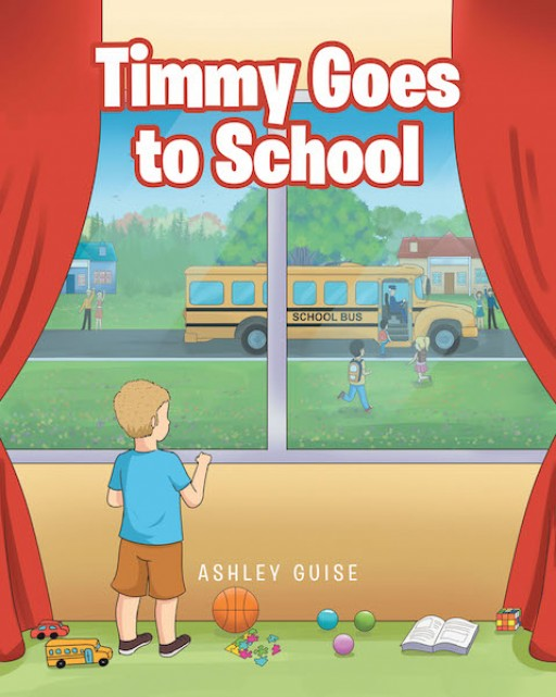 Ashley Guise's New Book 'Timmy Goes to School' is a Brief, Yet Wonderful, Story About a Kid's Great Excitement for Going to School