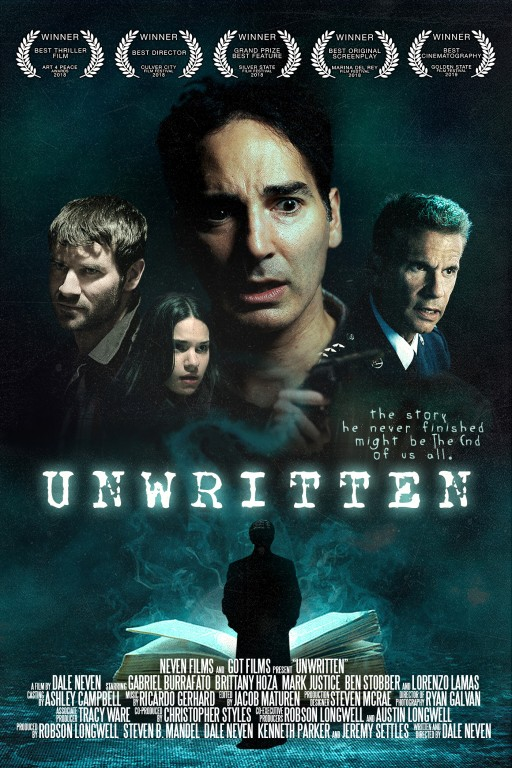Fruits of the imagination come to frightening life in UNWRITTEN, the new thriller from writer/director Dale Neven!