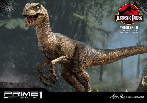 The Symbol of Jurassic Park - Velociraptor Statue - Something for Dinosaurs Enthusiasts